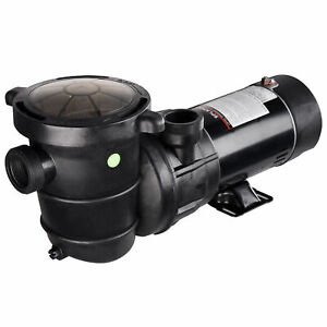 PRE SALE 1.5HP Swimming Pool Water Pump Above Ground Motor Strainer Efficient