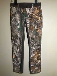 NWT Under Armour Women Pants Storm Early Season Realtree Xtra Camo Size 4 Fitted $49.99