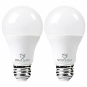 Great Eagle 200W Replacement A21 Dimmable LED Bulb 2700K/3000K/4000K/5000K(2-pk)