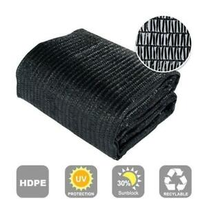 30% Sunblock Shade Cloth for Plant Cover Greenhouse Barn Various Size