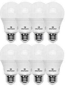 Great Eagle 60W Replacement A19 LED bulb: 2700K/3000K/4000K/5000K (4 or 8 pack)