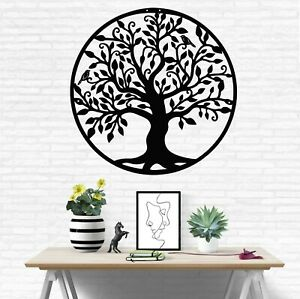 Metal Family Tree Metal Wall Decor Home Living Room Decoration Tree of Life Art $59.90