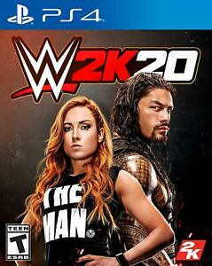 WWE 2K20 Standard PlayStation 4 PS4 Game Sealed New