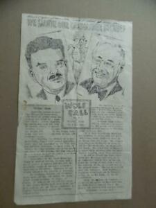 1944 WOLF CALL WWII Troopship Ship Newspaper FDR vs Thomas Dewey Election Cover $19.95