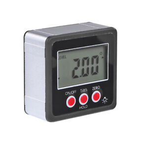 Angle Cube Digital Angle Protractor Inclinometer Electronic Gauge Bevel Box NEW C $16.02