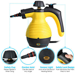Multifunction Portable Steamer Household Steam Cleaner 1050W W/Attachments Tool