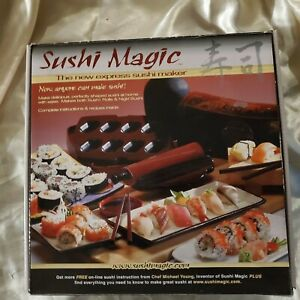 Sushi Magic - The New Express Sushi Maker By Chef Michael Young