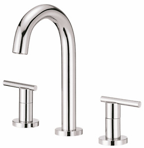 Parma Trim Line Two-Handle Mini-Widespread Lavatory Faucet with Metal Touch Down  $114.99