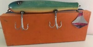 Lido Saltwater Flaptail Lure #101 Mullet Finish NOS In Box