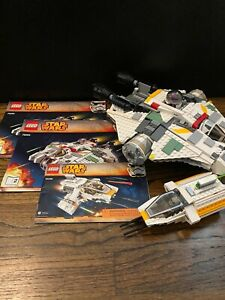LEGO Star Wars Rebels The Ghost (75053) & The Phantom (75048) - 3 Complete Sets