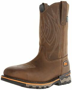 Timberland PRO Men's AG Boss Pull-On Alloy Square-Toe Work and Hunt Boot Color B