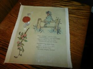 Nursery Rhyme Handmade Sewing Collectible Buttons Quilt Coin Lark $7.99