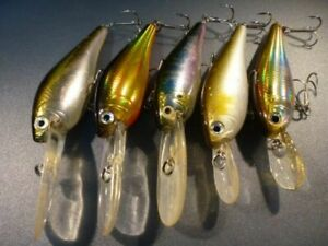 11-128Lure Team Daiwa Td Shad 5 Pieces Set T.D.Shad-Lc Glove Ride Lure