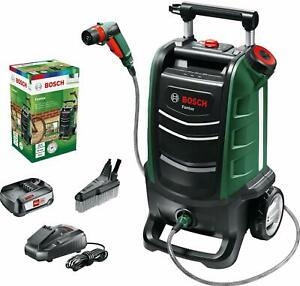 Bosch Pressure Washer Exterior of a Battery Fontus System of 18 V15 BAR