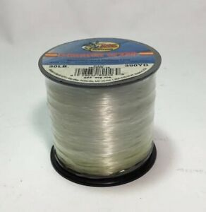 Clear Monofilament Fishing Line 30Lbs Weight 390 Yards Charter Class