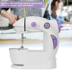 Desktop Small Sewing Machine Electric Hand Held Household Tailor Stitch Hot Sale C $59.30
