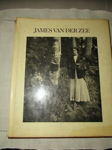 VINTAGE JAMES VAN DER ZEE PHOTOGRAPHY BOOK 1ST EDITION 1973 REGINA PERRY