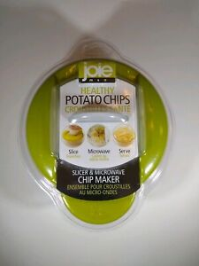 Green Joie Healthy Microwave Potato Chip Maker / Slicer Cooker