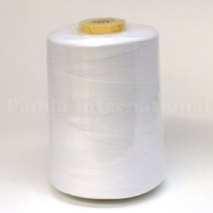 All Purpose Polyester Sewing Thread 10000 yards Tex 27 White $5.50