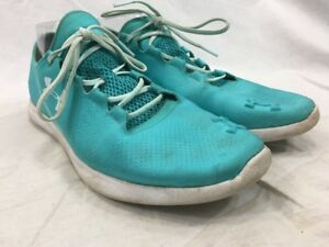 Under Armour Speedform Minimilist Running Womens 11 Sneakers Shoes Blue Lace Up $20.15