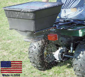 ATV BROADCAST SPREADER - ATV Mounted - 100 Lb Capacity - 12 Volt
