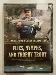 FLIES NYMPHS AND TROPHY TROUT DVD
