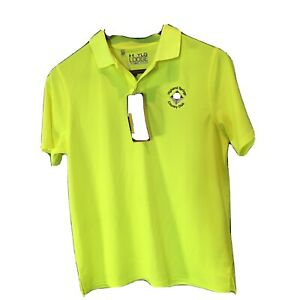 NWT Under Armour HIGHLAND SPRINGS COUNTRY CLUB Golf Shirt Polo SIZE Youth LARGE $14.99