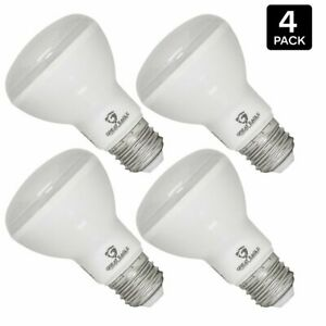 Great Eagle 60W Replacement BR20 LED Bulb 3000K-Soft/Bright White 525 Lms (4-pk)