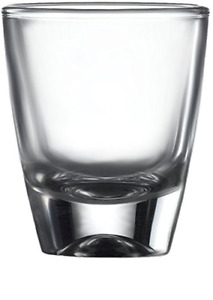 Circleware 42787 Tasters Heavy Base Shot, Set of 6 Glass Drinking Shot Cups 2 oz