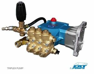 PRESSURE WASHER PUMP - Plumbed - CAT 66PPX40GG1 - 4 GPM - 4200 PSI - VRT3-310EZ