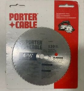 Porter-Cable 4-1/2 in. 120 Tooth Plywood Cutting circular saw blade 12057