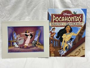 Pocahontas Journey to a New World Lithograph Disney Store $9.99