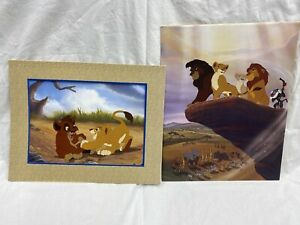 Lion King II Simba#x27;s Pride Commemorative Lithograph Disney Store $9.99