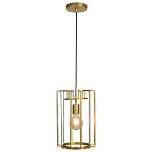 Access Lighting 23891LEDDLP-GLD Wired LED 9 inch Gold Pendant Ceiling Light