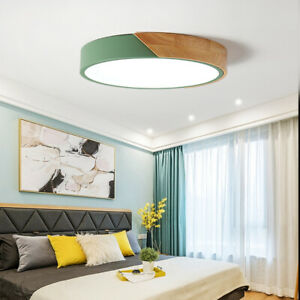 LED Ceiling Light Modern Lamp Room Lighting Fixture Flush Mount Remote Control