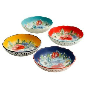 The Pioneer Woman Melody 4-Piece Pasta Bowl Set *FREE SHIPPING*