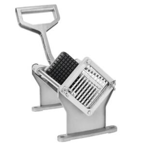 ZOKOP Stainless Steel Potato French Fry Fruit Vegetable Cutter Slicer 1 Blades