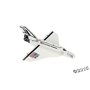 2 Dozen 24 US Space Shuttle FOAM Gliders PARTY FAVORS USA United States... $31.99