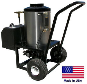 WATER HEATER for Cold Water Pressure Washers - 115V Diesel Burner - 3 GPM   WWK