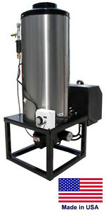 WATER HEATER for Cold Water Pressure Washers - 115V Diesel Fired Burner - 8 GPM