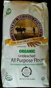 Central Milling Organic Unbleached All Purpose Flour 1 Pack 10 lb