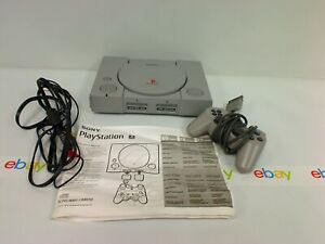 PlayStation 1 SCPH 9001 Original Console w Cables & Controller PS One PS1