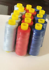 Pack of 15 sewing threads,Cotton Blend Thread SetAll Purpose Polyester Sewing T $9.50