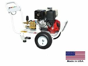 PRESSURE WASHER Portable - Cold Water - 4 GPM - 3500 PSI -  12 Hp Honda - CAT