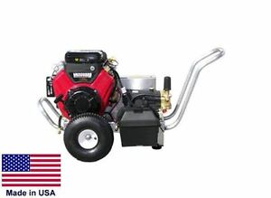 PRESSURE WASHER Portable - Cold Water - 5.5 GPM - 3500 PSI - 18 Hp Vanguard - HP