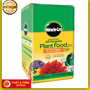 Miracle-Gro Grow Houseplant Flowers Vegetable Garden All Purpose Plant Food USA