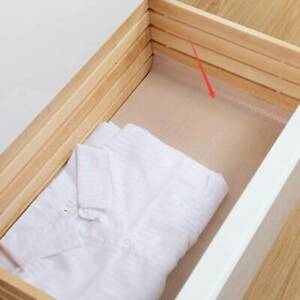 Cabinet Cupboard Pad Waterproof Drawer Liner Adhesive Clear White 2 Sizes EVA LP