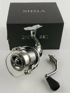 1724 Shimano Reel Spinning 18 Stella 2500Shg With Box Used Goods