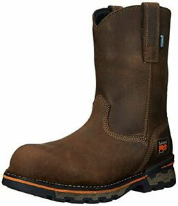 Timberland PRO Men's AG Boss Pull-On Alloy-Toe Waterproof Work and Hunt Boot Col
