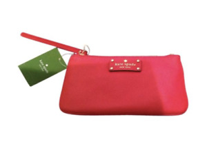 Kate Spade Chrissy Wristlet Bag Pink New $130